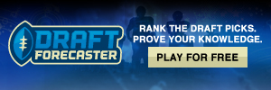 Draft Forecaster - You pick the first round.