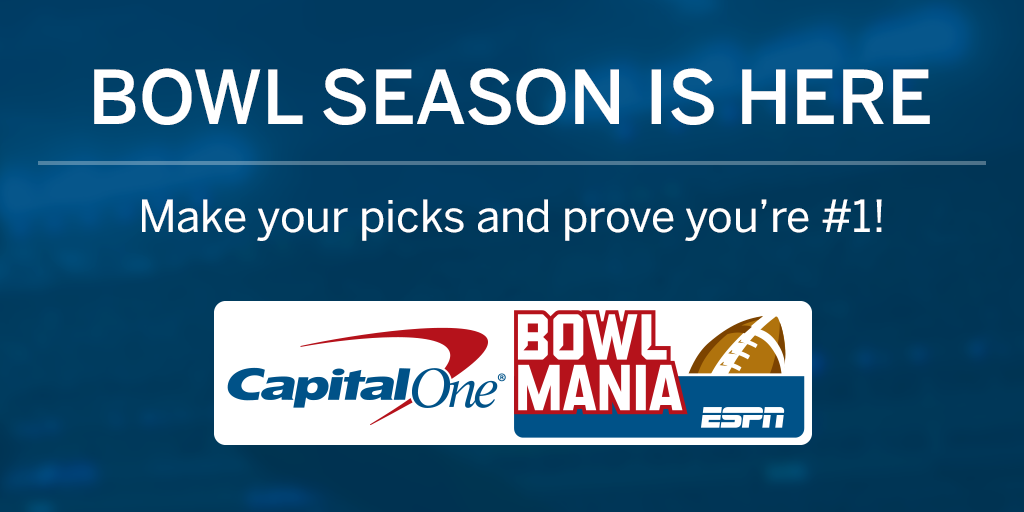 photo relating to Printable Bowl Schedule With Point Spreads identified as Funds Just one Bowl Mania - ESPN