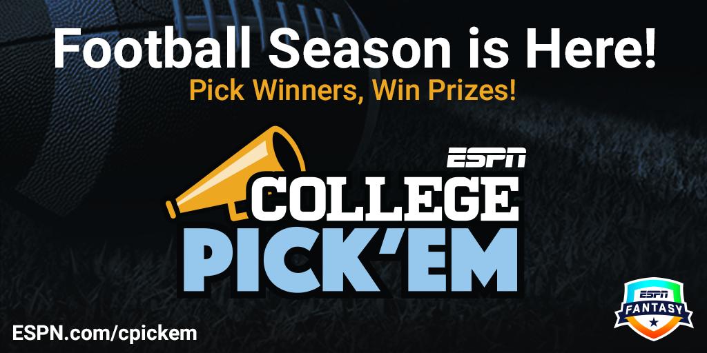 College Pick'em - ESPN - Official Rules
