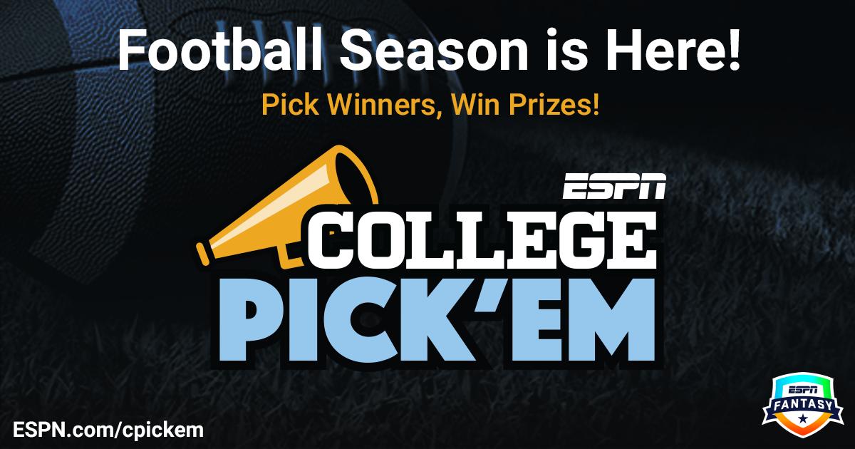 Kybaugh 1 - College Pick'em - ESPN